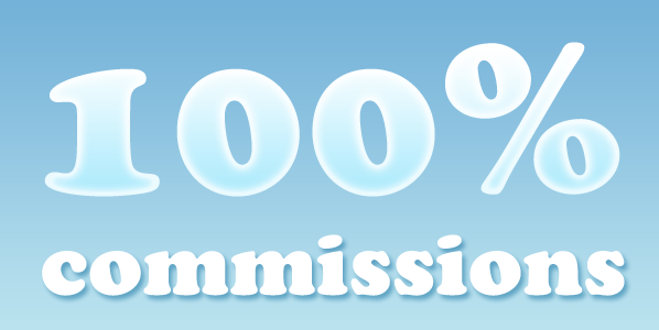 hundred percent commissions to real estate agents