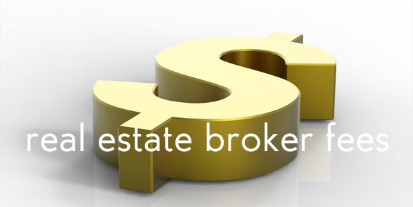 real estate broker fees