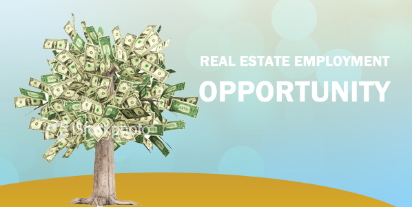 real estate employment opportunity
